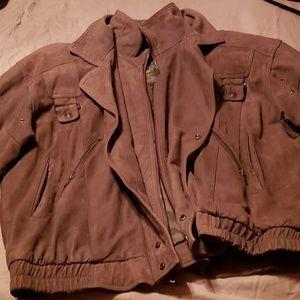 Wilson's  bomber jacket